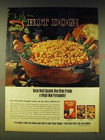 1964 Uncle Ben's Spanish Rice Ad - Hot dog!