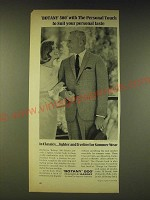 1964 Botany 500 Classic Suit Ad - Botany 500 with the personal touch to suit