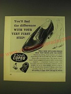 1964 Dr. Scholl's Copeg Shoes Ad - You'll feel the difference