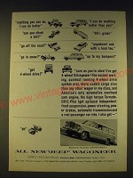 1963 Jeep Wagoneer Ad - Anything you can do, I can do better