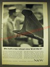 1963 N&W Norfolk and Western Railway Ad - Who built a new railroad