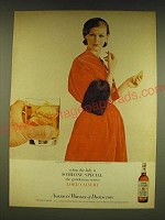 1962 Lord Calvert Whiskey Ad - When the lady is someone special