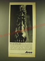 1962 Avco Corporation Ad - Space-age shooting gallery