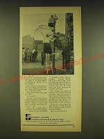 1962 Merrill Lynch Ad - That Wall is within easy walking distance