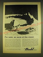 1962 Budd Company Ad - For sale: an acre of the moon
