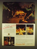 1962 Canadian Club Whisky Ad - The Limbo was a dance I found too hot to handle!
