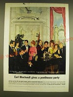 1962 Vat 69 Scotch Ad - Joel Key Rice, Robert Goulet, Arlene Dahl