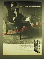 1962 Grant's 8 Scotch Ad - As long as you're up get me a Grant's