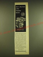 1962 Allen-Bradley Bulletin700 Type BX Relay Ad - Here's a key factor