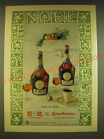1962 B and B Liqueur and Benedictine Liqueur Ad - gift of gifts