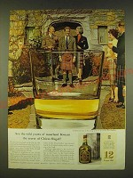 1961 Chivas Regal Scotch Ad - Are the wild yeasts of moorland flowers