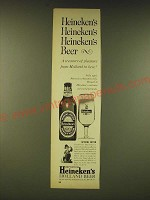 1961 Heineken's Beer Ad - A treasure of pleasure