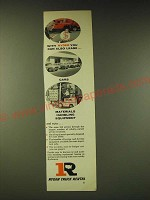 1960 Ryder Truck Rental Ad - With Ryder you can also lease cars materials