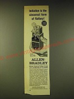 1960 Allen-Bradley Bulletin 802T oiltight Limit switches Ad - Imitation