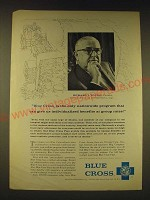 1960 Blue Cross Insurance Ad - Blue Cross is the only nationwide program