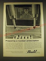 1960 Budd Company Ad - Preparing a nuclear prescription