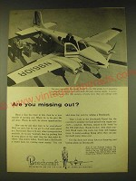 1960 Beechcraft Travel Air Airplane Ad - Are you missing out?