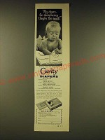 1958 Curity Diapers Ad - My dears - for absorbency they're the most!