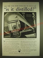 1936 Texaco Havoline Motor Oil Ad - Ask the man who puts oil in your car