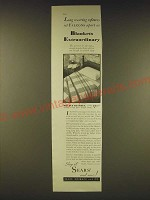 1931 Sears Double Blanket Ad - Long wearing softness set Falcons apart