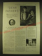 1931 Cream of Wheat Cereal Ad - Dear fathers mothers too will read