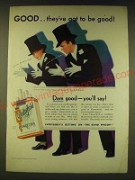 1931 Chesterfield Cigarettes Ad - Fred and Adele Astaire