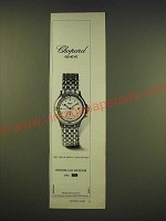 1990 Chopard Mille Miglia watch Ad - Chopard Geneve (in German)