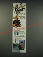 1990 Miracle-Gro Miracid Ad - Dead?