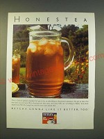 1990 Tetley Tea Ad - Honestea
