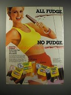 1990 Sugar Free Fudgsicle Ad - All Fudge. No pudge.