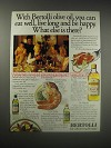 1990 Bertolli Olive Oil Ad - With Bertolli olive oil, you can eat well