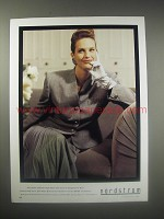 1990 Nordstrom Christian Dior Suit of Domestic Wool Ad - For those summer days