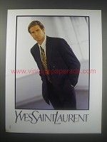 1990 Yves Saint Laurent Fashion Ad