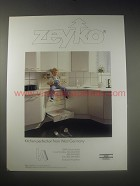1990 Zeyko Kitchen Cabinets Ad - Zeyko Kitchen perfection from West Germany