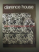 1990 Clarence House Schiapparelli Jacquard Ad