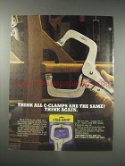 1990 Vise-Grip Locking C-Clamps Ad - Think all C-Clamps are the same?
