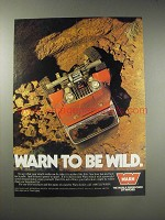1990 Warn Winches Ad - Warn to be Wild