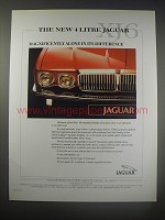 1990 Jaguar XJ6 Car Ad - magnificently alone in its difference