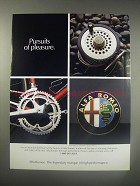 1990 Alfa Romeo Cars Ad - Pursuits of pleasure