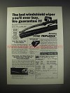 1990 Tripledge Wiper Blades Ad - The last windshield wiper you'll ever buy.