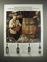 1990 Cockburn's Port Ad - Decio Dos Santos has been working on this