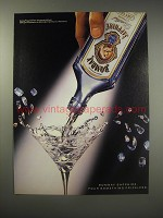 1990 Bombay Sapphire Gin Ad - Pour something priceless