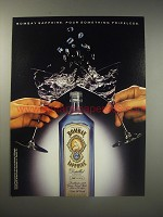 1990 Bombay Sapphire Gin Ad