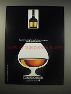 1990 Courvoisier Cognac Ad - If you're looking for perfection in Cognac