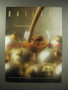 1990 Baileys Irish Cream Ad - Baileys 'Tis the season to be jolly