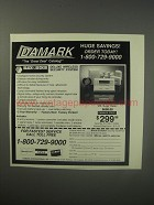 1990 Damark Black & Decker Deluxe wireless security system Ad