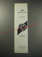 1991 Breitling Old Navitimer Chronograph Watch Ad