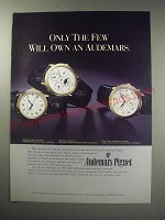 1991 Audemars Piguet Automatic, Perpetual Calendar and Dual Time Watches Ad