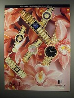 1991 Piaget Dancer Watch Ad - Cultivated from the rarest of the rare