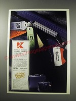 1991 American Tourister Luggage Ad - Your best traveling companion